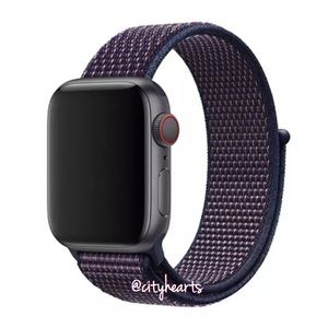 Accessories - NEW Indigo Blue Sport Loop BAND For Apple Watch